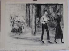 GOERG EDOUARD LITHOGRAPHIE 1945 SIGNÉE CRAYON NUM/15 HANDSIGNED NUMB LITHOGRAPH