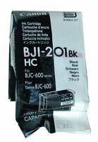 6 x cartucce originali Canon BJI-201BK HC Inchiostro Nero  f47-0951-500