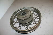 1981 YAMAHA XS400 XS 400 SPECIAL REAR BACK WHEEL RIM SPROCKET HUB