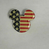 Disney American Flag Mickey Head Pin