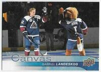 2016-17 Upper Deck Canvas #C24 Gabriel Landeskog - Colorado Avalanche