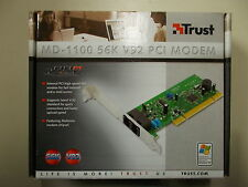 Trust MD-1100, PCI Data/Fax Modem, 56K, internal, V.92 standard, PCI, #K-20-2