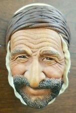 Vintage Rare Bossons Persian Chalkware Head Made In England
