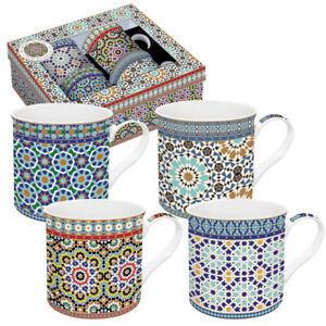 Orientalische Tassen 4er Set Arabian / Morgenland Möbel & Accessoires