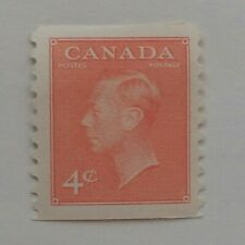 KING GEORGES VI 1951 CANADIAN COIL STAMP