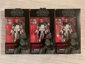 Star Wars Black Series Clone Captain Rex 6-Inch Sealed #59 **Please Read**