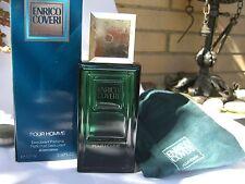 ENRICO COVERI pour HOMME DEODORANT PARFUME 100 ml ORIGINAL RARE VINTAGE