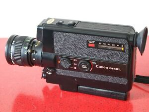 EXCELLENT CANON 514XL super 8 movie camera f/1.4 lens TESTED FREE SHIPPING WORLD