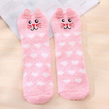 Cute Animal Fuzzy Cozy Warm Thicken Soft Ankle Towel Floor Socks Hosiery Unisex