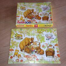Vintage Waddingtons Fairy Tales Goldilocks & The Three Bears Jigsaw Puzzle 1989