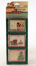 2 (Two) Packages Vintage 18 Christmas Gift Trims in Each.