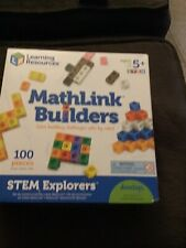 Learning Resources Stem Explorers: Mathlink Builders, 100Pc Fun Educational Toy