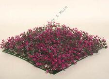 Artificial Fuschia Fake Flower Mat Patio Hedge Plant Grass Lawn Turf Topiary