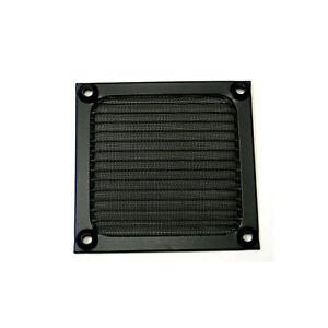 Okgear 92mm Anodized Aluminum BLACK Fan Filter