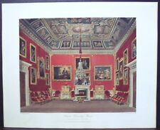 "W. H. Pyne ""Second Drawing Room, Buckingham House"" 1818"