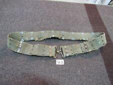"US GI Vietnam M1956 Individual Equipment Belt Rare Large size 58"" (56-8)"