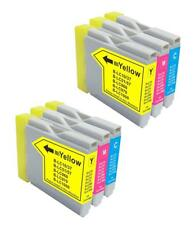 6 NON-OEM INK CARTRIDGE BROTHER LC-51 CMY MFC-240C MFC-440CN MFC-5460CN	DCP-130C