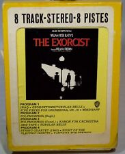 Rare 1974 THE EXORCIST 8 Track Tape Music Excerpts William Peter Blatty 8WM-2774