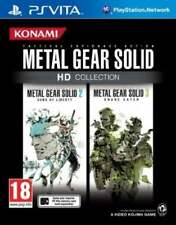 Metal Gear Solid HD Collection (PlayStation Vita) NEW & Sealed