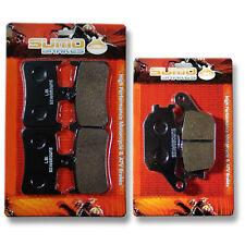 Honda F+R Brake Pads VTR 1000 F Super Hawk (1998-2005) F Firestorm (1997-2006)