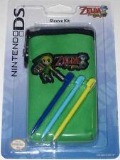 Nintendo DS lite Legend of Zelda: Phantom Hourglass sleeve kit.. SealED!