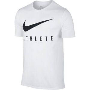 Nike Athlete DRI - FIT Training Shirt White (XL) BQ7539 100 Rare!