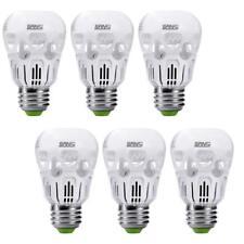 SANSI 6-Pack LED Light Bulb, 5W Daylight 5000k Cool White A15 LED Bulb E26 Home