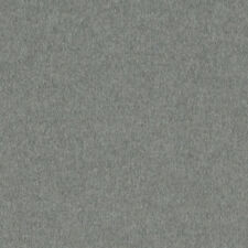 Ralph Lauren Grey Upholstery Fabric- Burke Wool Plain Heather 3.90 yd LCF64273F