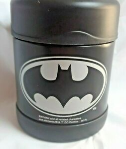 Kids Thermos NEW Batman Insulated Stainless Steel Food Jar 10 oz Funtainer