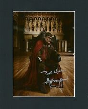 ANTHONY HEAD UTHER PENDRAGON MERLIN HAND SIGNED MOUNTED AUTOGRAPH PHOTO INC COA