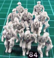 Milicast FIG084 1:76 Resin WWII British Army Drivers (10 different types)