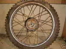 1980 YAMAHA YZ 80 FRONT WHEEL  NEED TO HAVE WORK DONE  TRUE UP WORK
