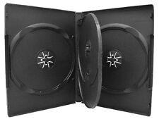 1 x quad 4 disc noir boîtier dvd avec plateau