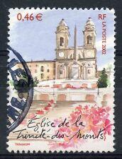 TIMBRE FRANCE OBLITERE N° 3529 ROME EGLISE TRINITE / Photo non contractuelle