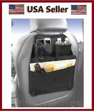 Black Back Seat Multi Pocket Compartment Storage Organizer Car /Auto /Truck / RV