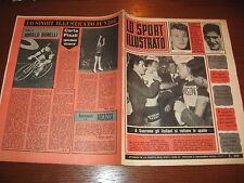 LO SPORT ILLUSTRATO GAZZETTA 1965/12 MILANO-SANREMO CICLISMO POSTER CAGLIARI @