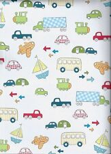 ON THE GO Vehicles 12 x 12 Scrapbook Paper - 2 Sheets