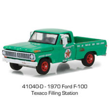 Greenlight 1970 Ford F-100 Pick Up Truck Texaco Filing Station Green 1:64 41040D