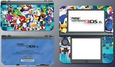 Sonic Boom Knuckles Tails Amy Shadow Video Game Decal Skin New Nintendo 3DS XL