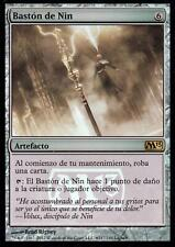 Bastón de Nin FOIL / Staff of Nin | EX | Release Promo | ESP | Magic MTG