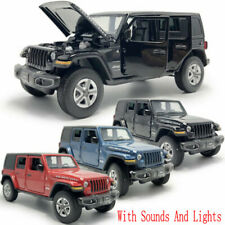 1:32 Jeep Wrangler Rubicon SUV Model Car Diecast Gifts Toy Vehicle Kids Collects