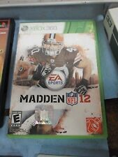 EA Sports NFL Madden 12 game for Xbox 360 *BW-A3