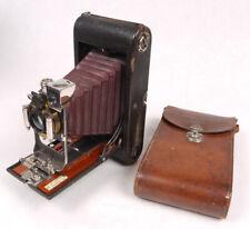 No.3A Folding Pocket Kodak Model B-2 w/Red Bellows - Very Nice