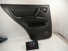 2005 Mercedes-Benz ML350 Driver Rear Door interior panel 1637302370 9B96 BLACK