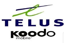 TELUS/KOODO Unlock Code CHEAP FOR SONY, SAMSUNG, LG, HTC, ALCATEL..... ETC FAST.