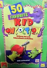 50  FAVORITE KID CONCOCTIONS DVD, BOOKLET EDUCATIONAL DR. TOY,RECIPES,SCIENCE
