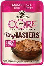 Wellness, Cat Food Tiny Tasters Duck, 1.75 Ounce ; 12 Pouches