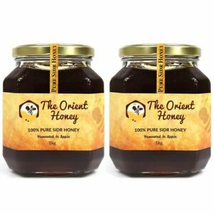 2KG The Orient Honey Pure Sidr Top Quality 100% Authentic Royal Raw No Chemicals
