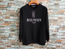 Autumn and winter new BAL-MAIN letter velvet thickened clothes men and women