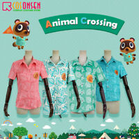 Animal Crossing Tom Nook Timmy and Tommy Isabelle Cosplay Costume T Shirt Tops